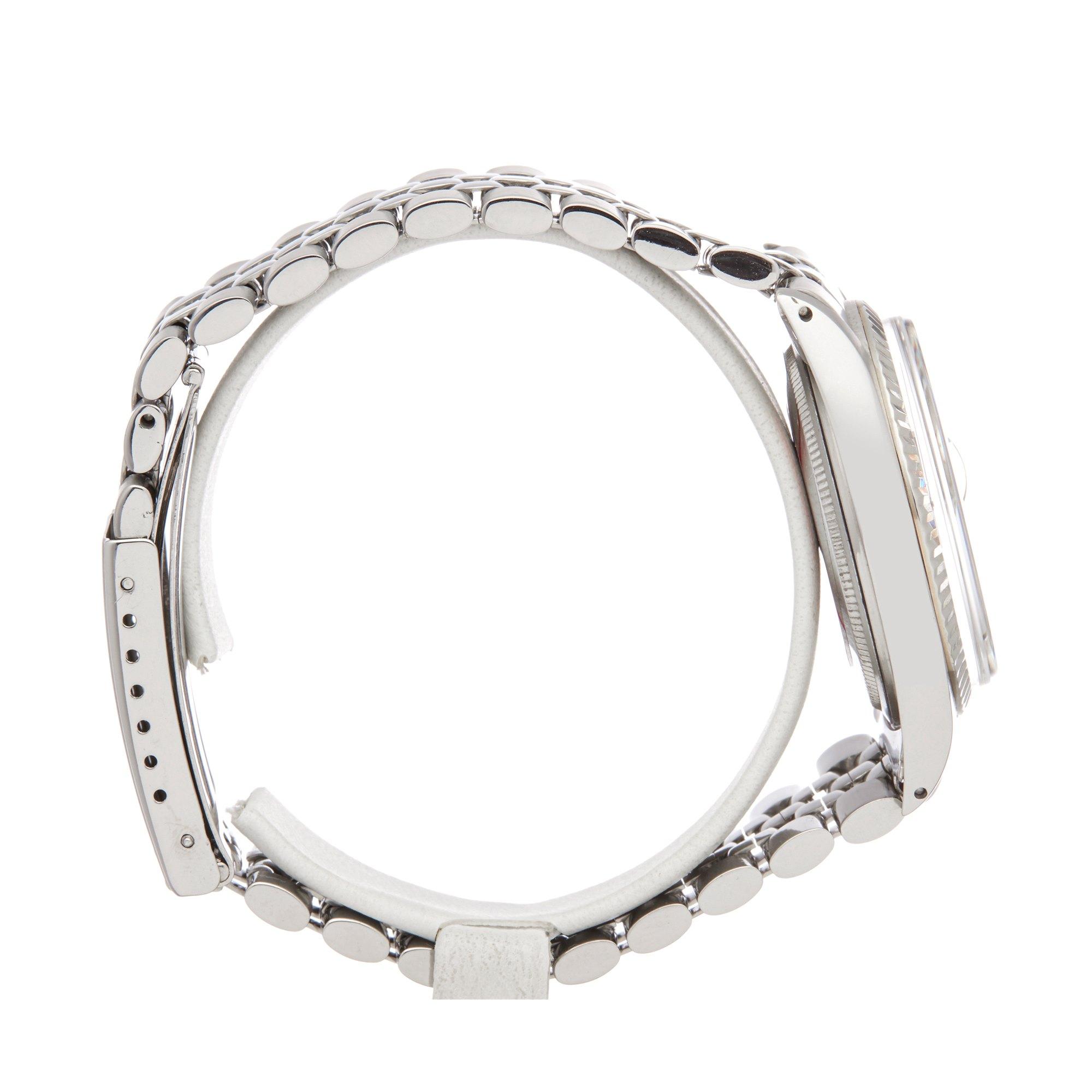Rolex Datejust 36 Linen Dial Stainless Steel 1601