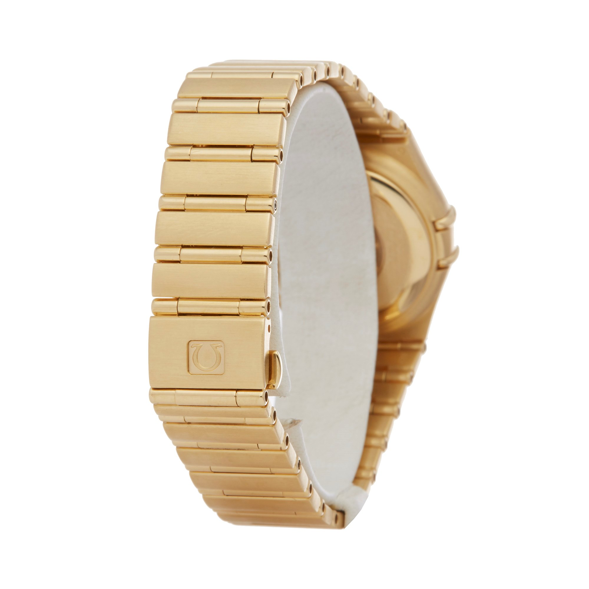 Omega Constellation Iris Mid Size Automatic 18K Yellow Gold 1197.79.00