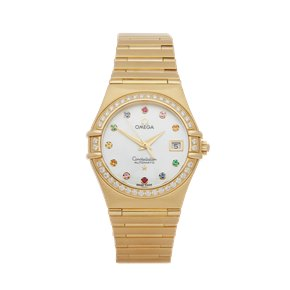 Omega Constellation Iris 18K Yellow Gold - 1197.79.00