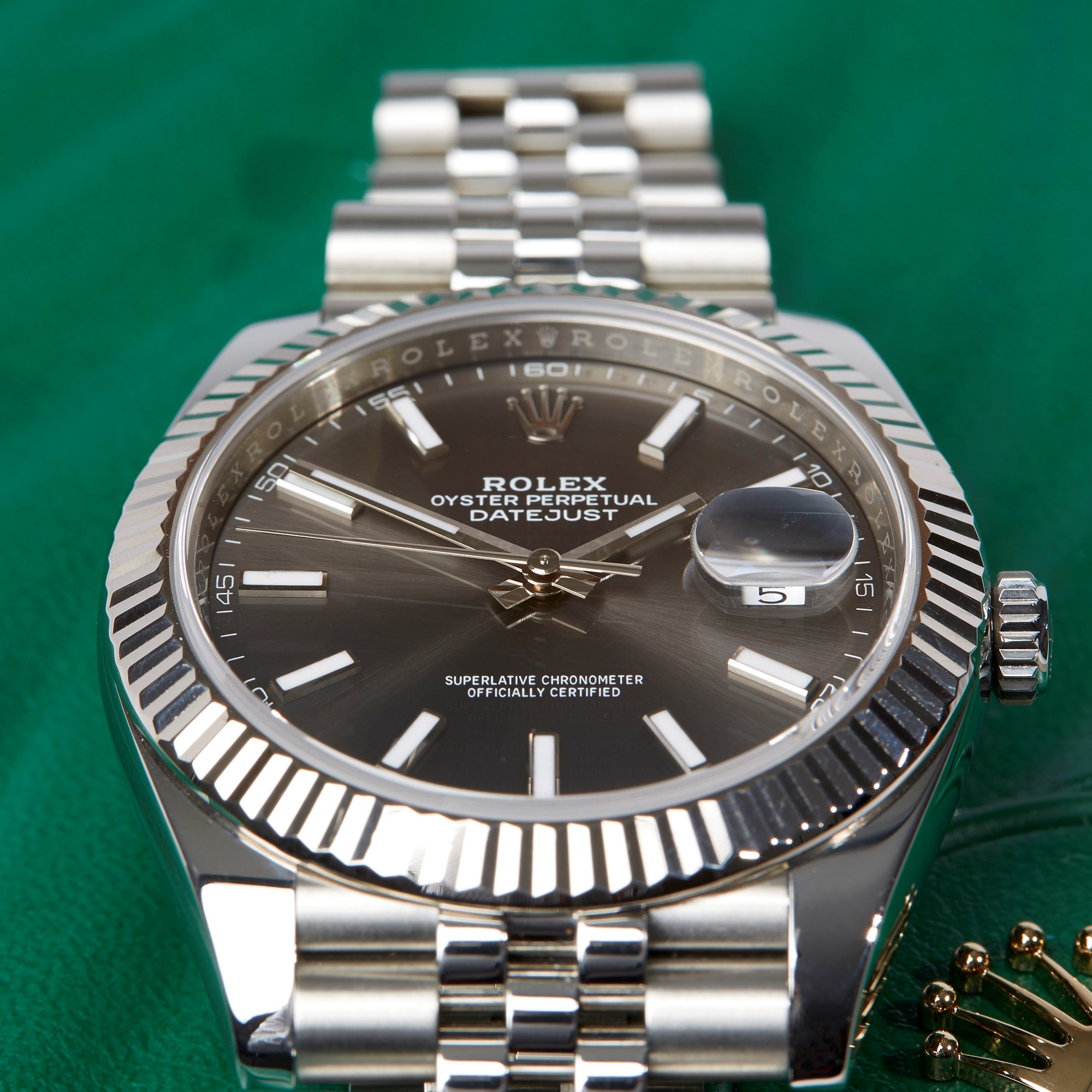 Rolex Datejust 41 Roestvrij Staal 126334