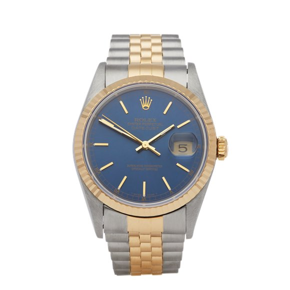Rolex Datejust 36 Stainless Steel & Yellow Gold - 16233
