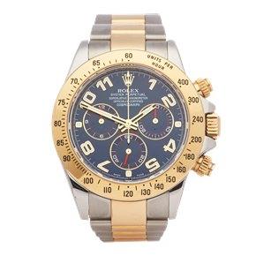 Rolex Daytona Chronograph Stainless Steel & Yellow Gold - 116523