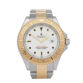 Rolex Yacht-Master Sapphire Stainless Steel & Yellow Gold - 16623