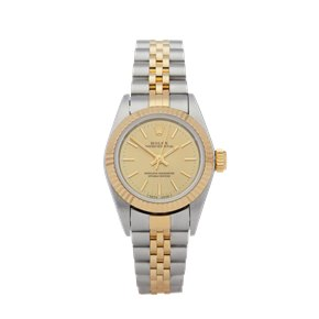 Rolex Oyster Perpetual 25 Stainless Steel & Yellow Gold - 67193