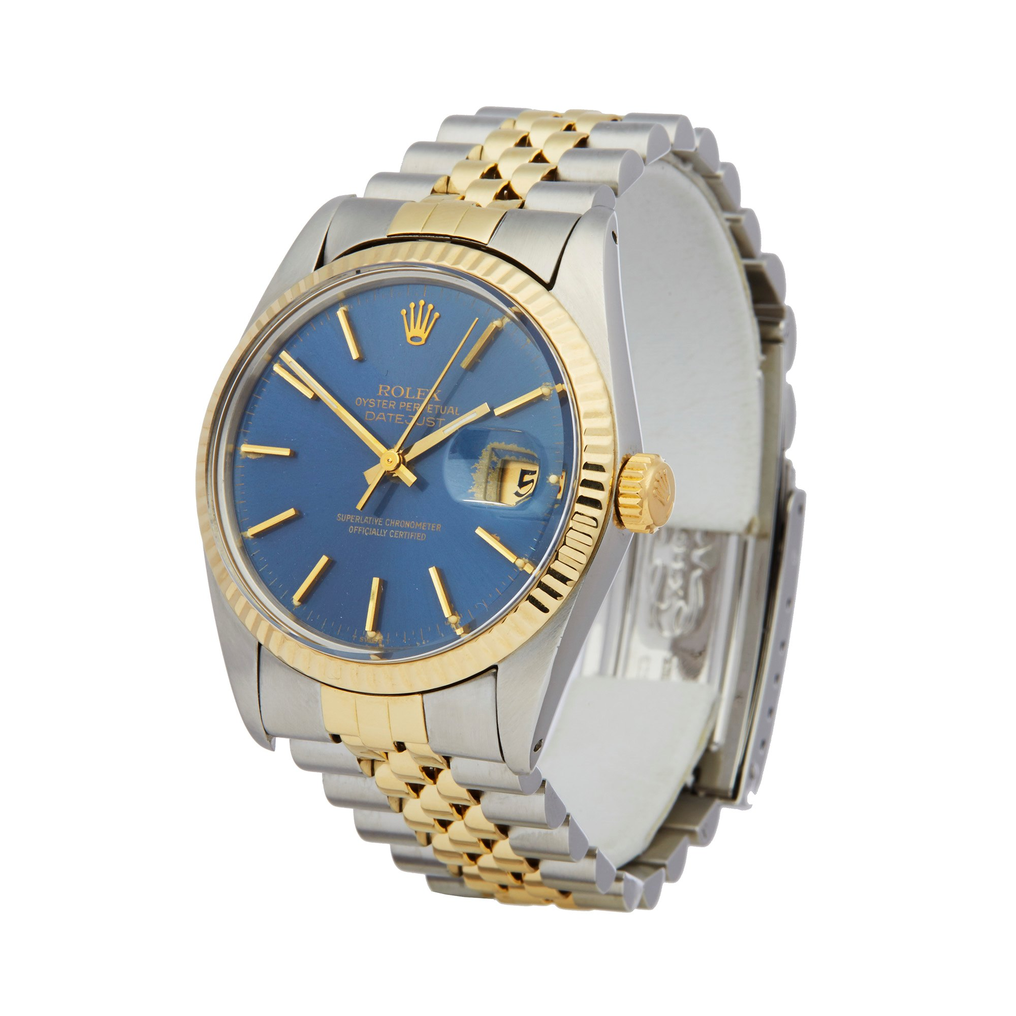 Rolex Datejust 36 18K Roestvrij Staal 16013