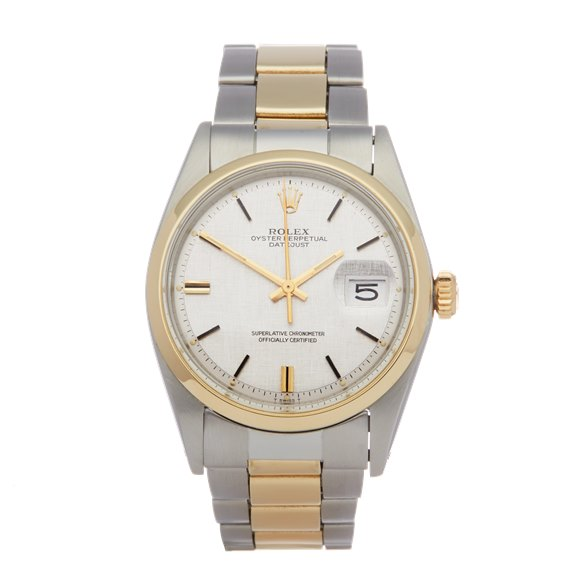 Rolex Datejust 36 Stainless Steel & Yellow Gold - 1600