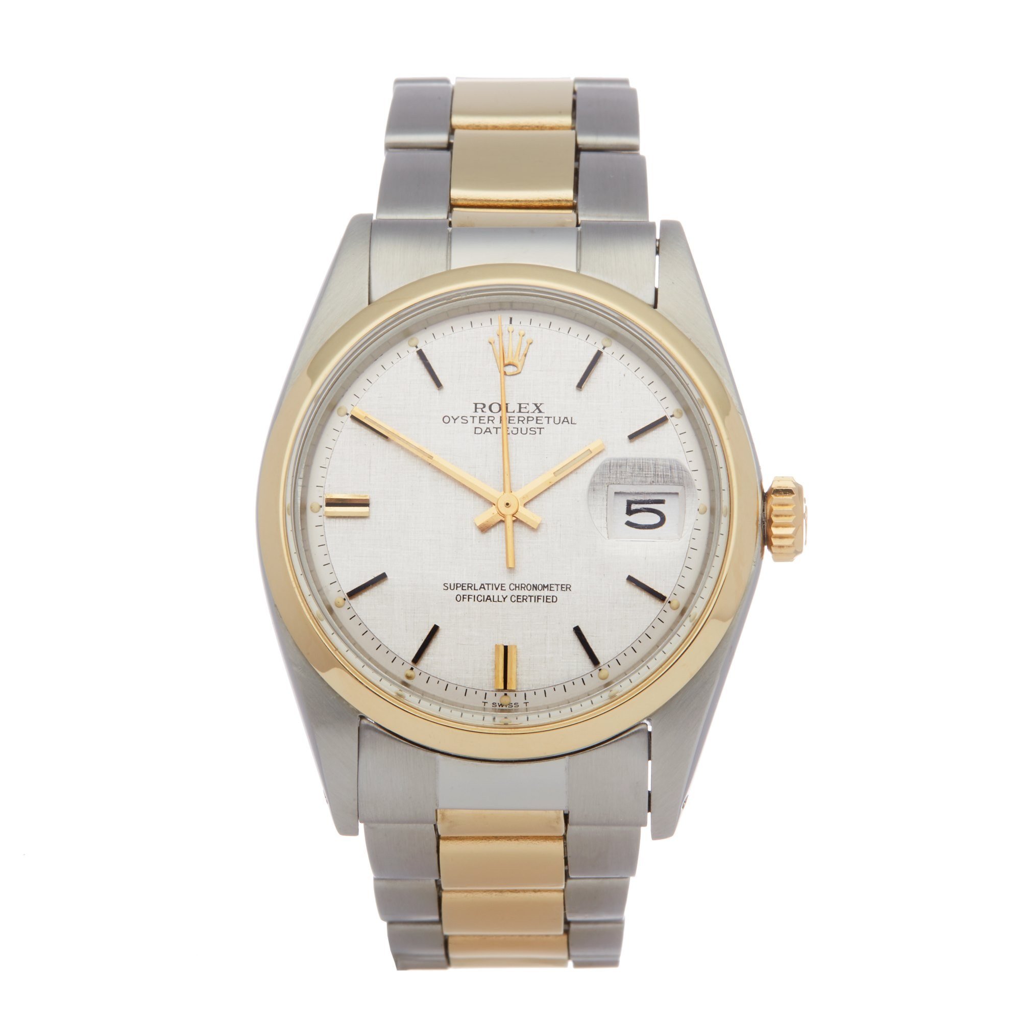 Rolex Datejust 36 18K Yellow Gold & Stainless Steel 1600