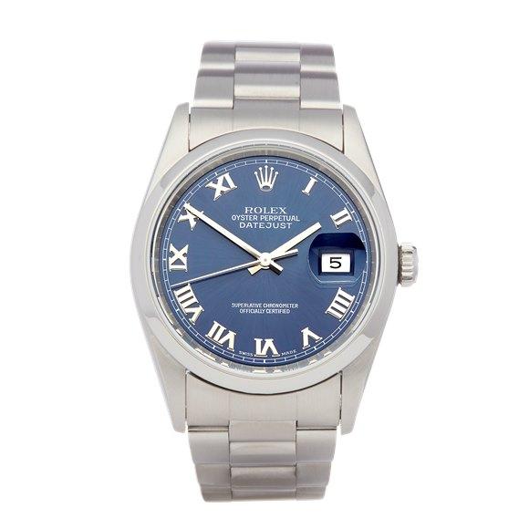 Rolex Datejust 36 Stainless Steel - 16200