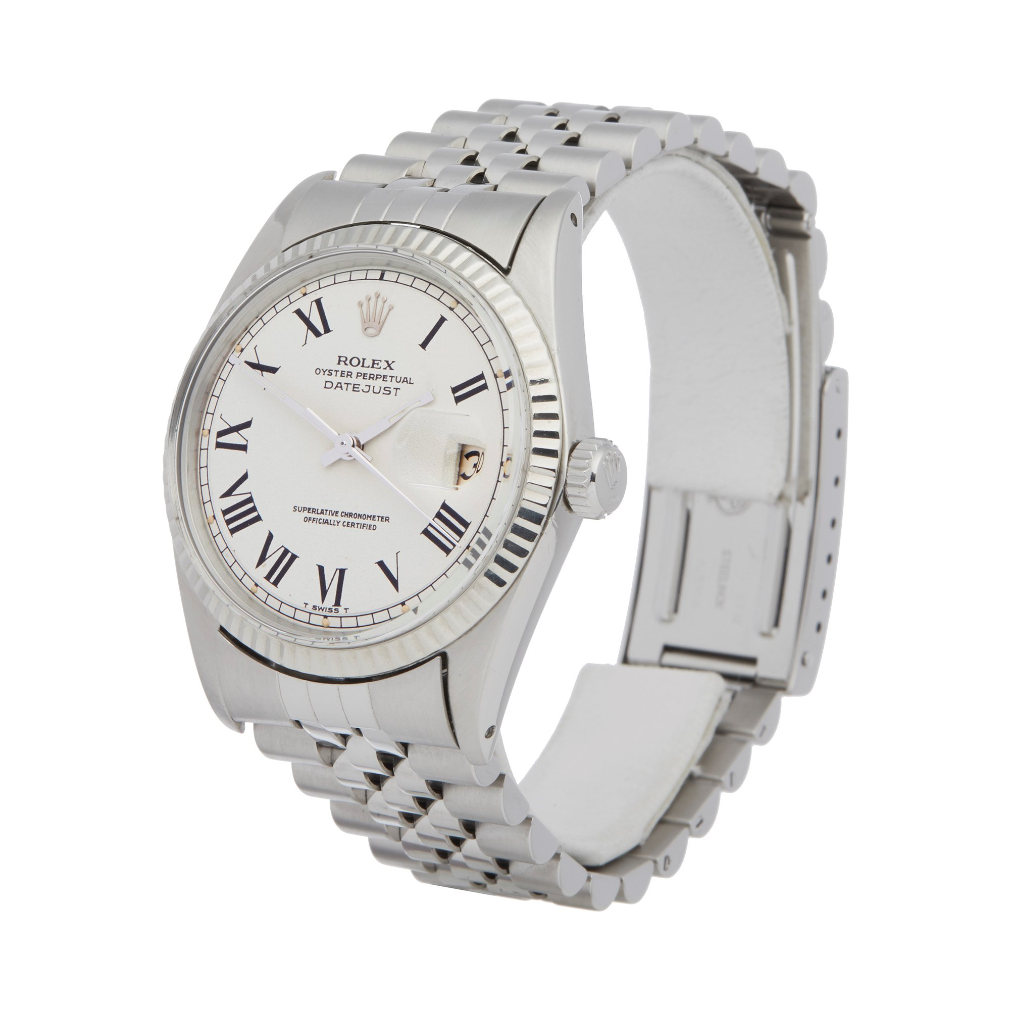 Rolex Datejust 36 Buckley Dial Stainless Steel 1601