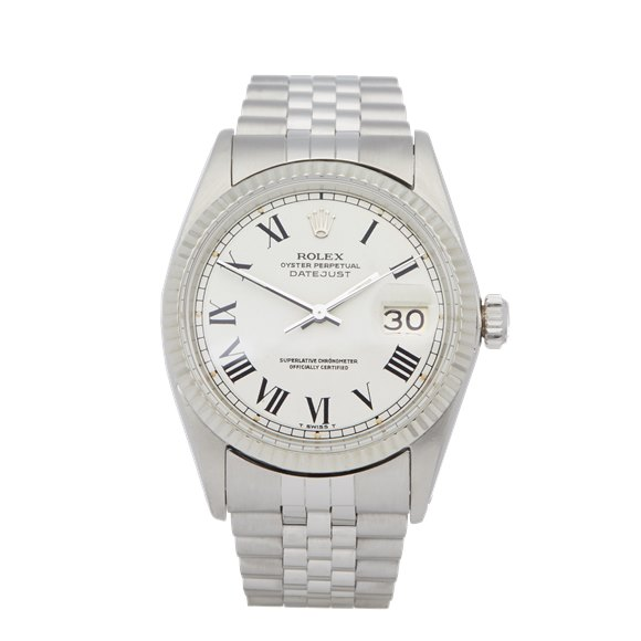 Rolex Datejust 36 Buckley Dial Stainless Steel - 1601