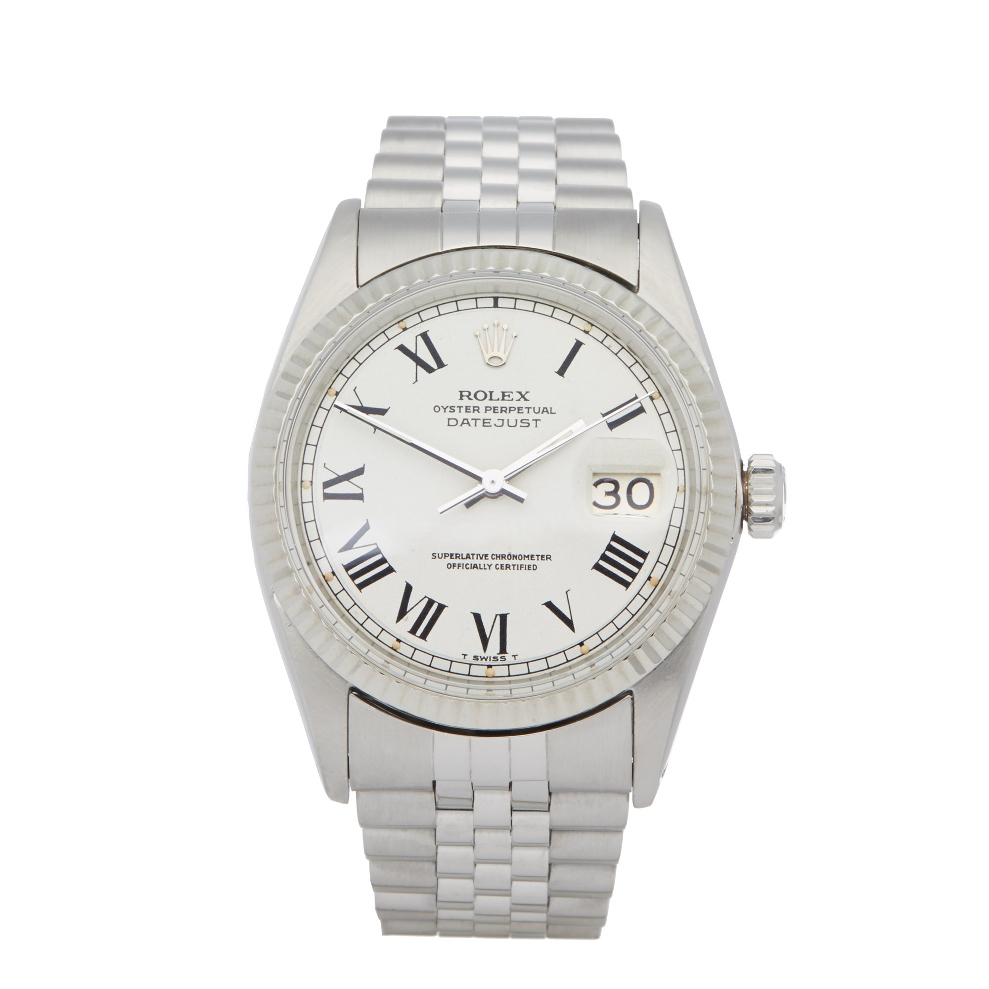 Rolex Datejust 36 Buckley Dial Stainless Steel - 1601 Roestvrij Staal 1601