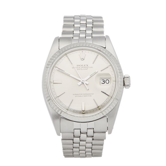 Rolex Datejust 36 Step DIal Stainless Steel - 1601