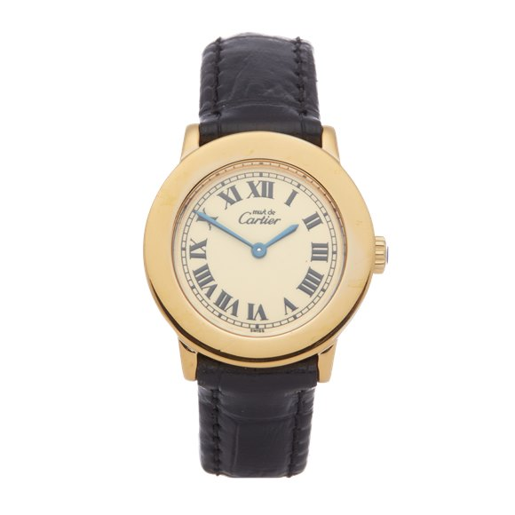 Cartier Must de Cartier Ronde Gold Plated - 1801