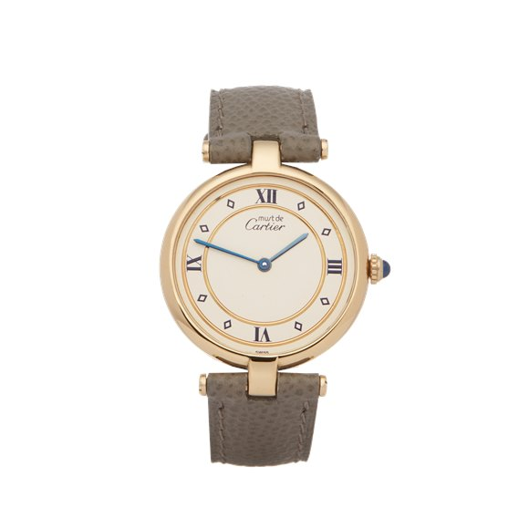 Cartier Must de Cartier Ronde Gold Plated - 101958