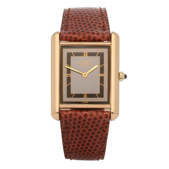 Cartier Must de Cartier Tank Paris Gold Plated - 691006