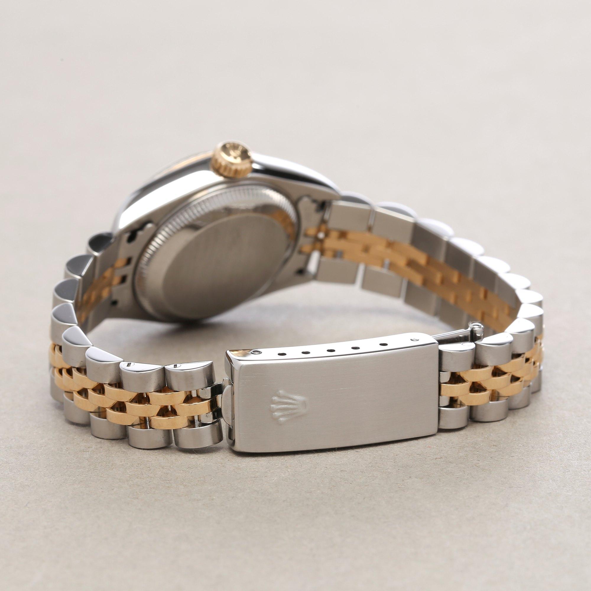 Rolex Datejust 26 Diamond Onyx 18K Stainless Steel 79173