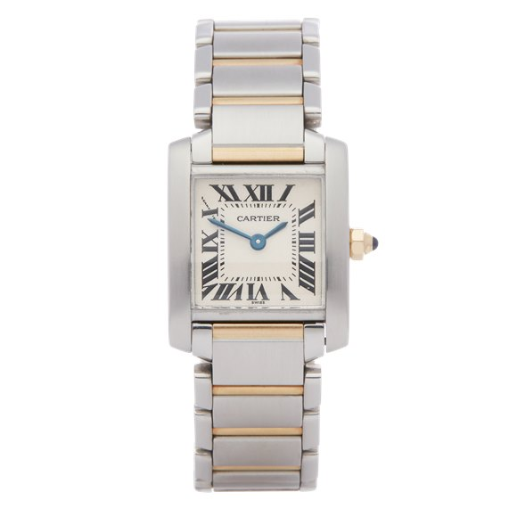 Cartier Tank Francaise Stainless Steel & Yellow Gold - 2300
