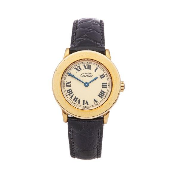 Cartier Must de Cartier Gold Plated - 1801
