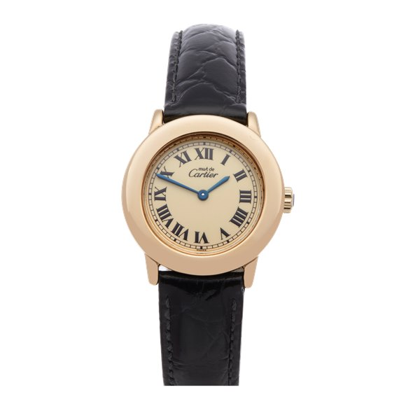 Cartier Must de Cartier Ronde Gold Plated - 1801