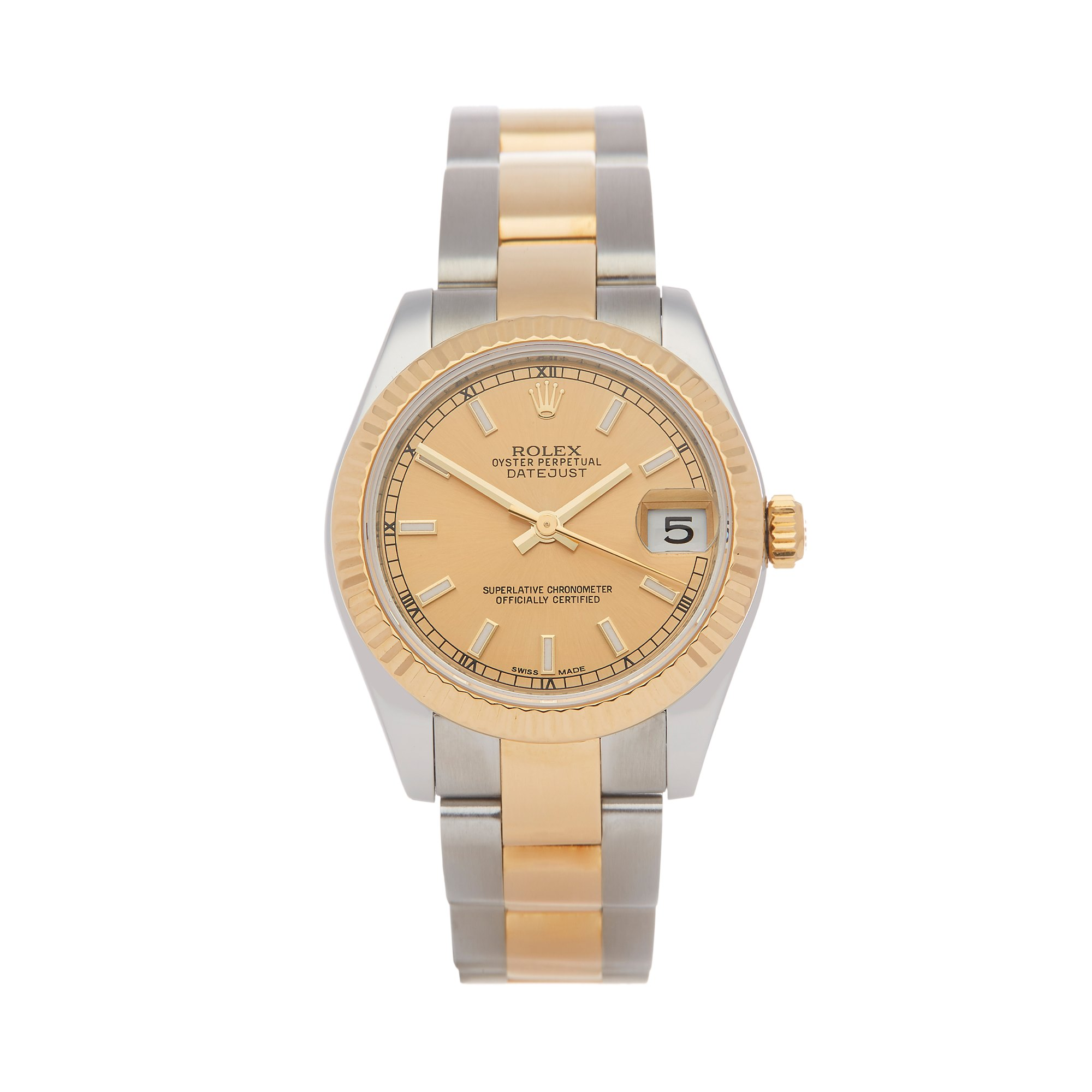 Rolex Datejust 31 Stainless Steel & Yellow Gold 178273