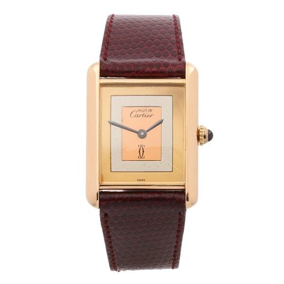 Cartier Must de Cartier 18K Gold Plated - 215806