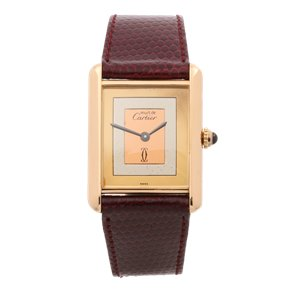 Cartier Must de Cartier Gold Plated