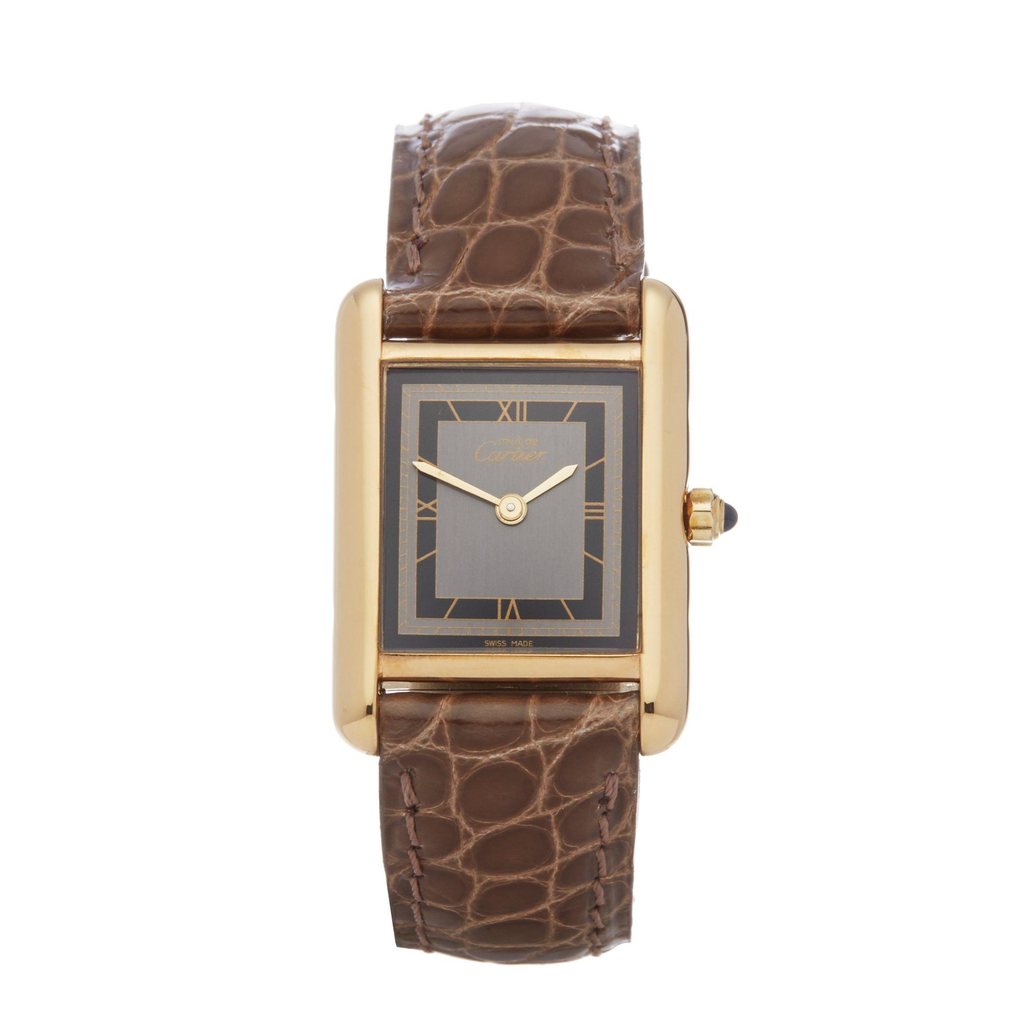 Cartier Must de Cartier Gold Plated 66754
