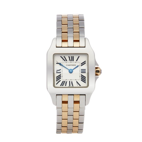 Cartier Santos Demoiselle Stainless Steel - W25066Z6 or 2698