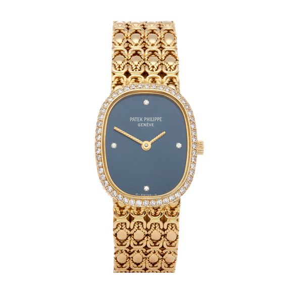 Patek Philippe Ellipse Diamond 18K Yellow Gold - 4698