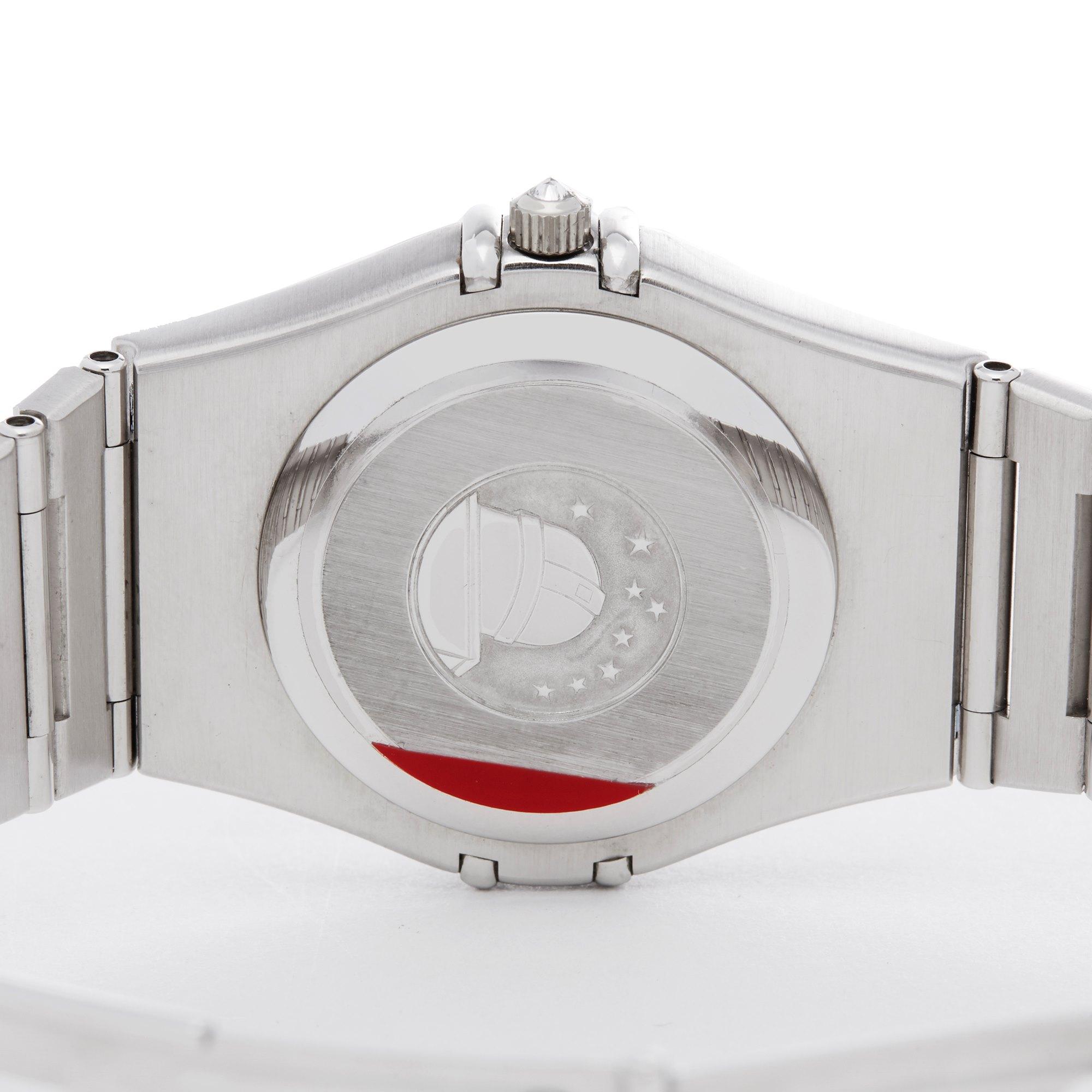 Omega Constellation Diamond & Sapphire 18K Wit Goud Piece Unique