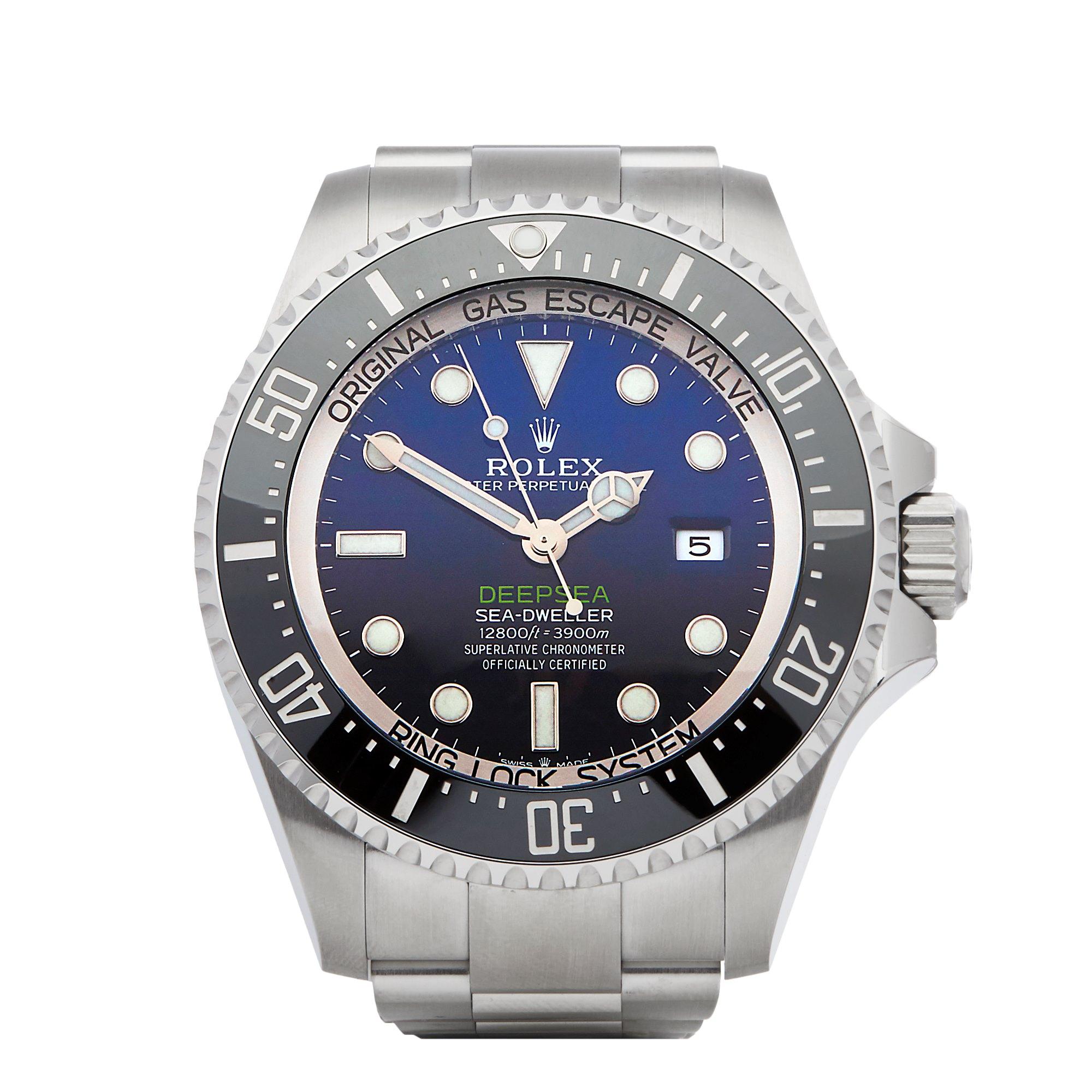 Rolex Sea-Dweller Deep Sea James Cameron Deep Blue Stainless Steel 126660