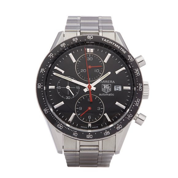 Tag Heuer Carrera Chronograph Stainless Steel - CV2010