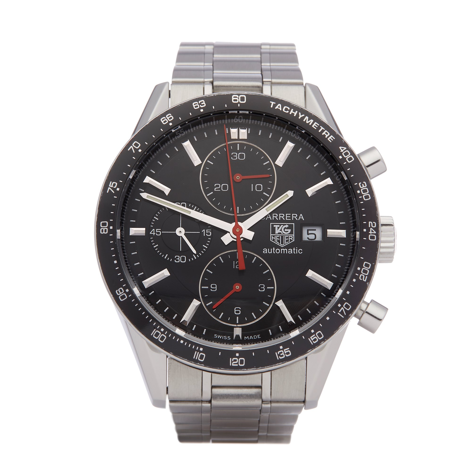 Tag Heuer Carrera Chronograph Stainless Steel CV2010