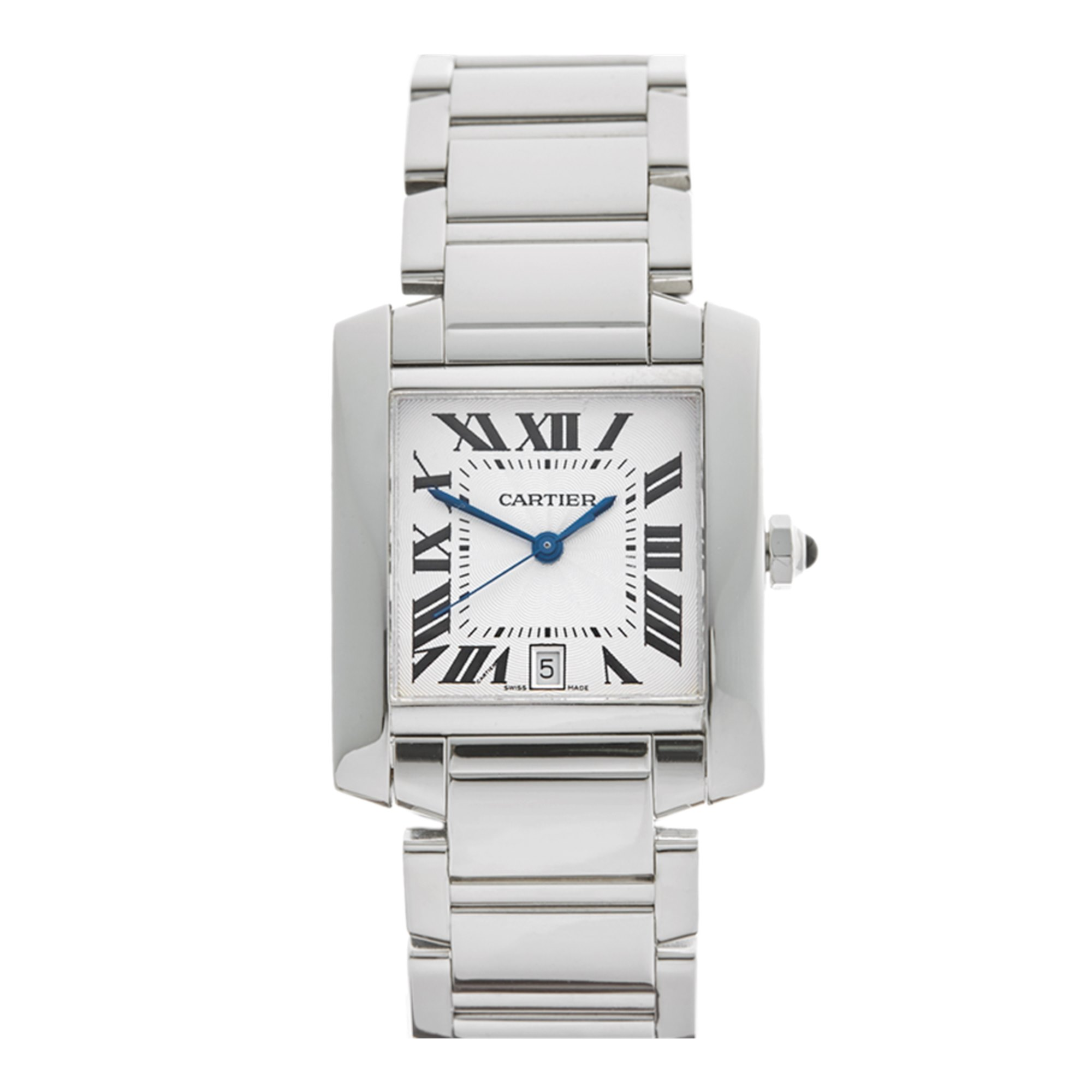 Cartier Tank 18K White Gold W50011S3 OR 2366