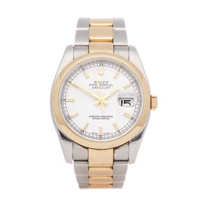 Rolex Datejust 36 Stainless Steel & Yellow Gold - 116203