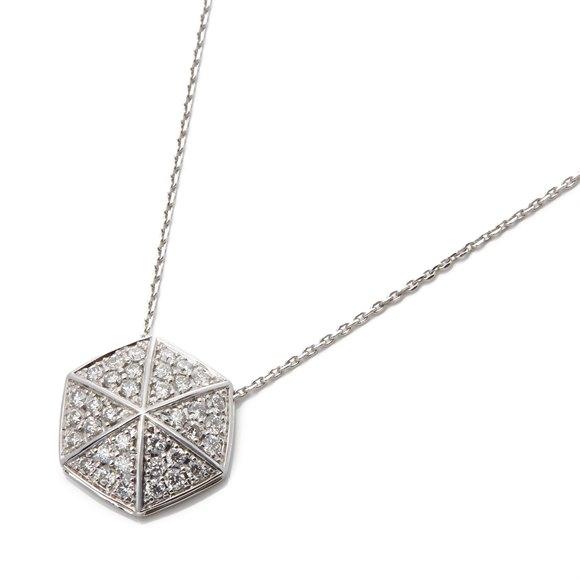 Stephen Webster 18k White Gold full Pave Diamond Deco Pendant