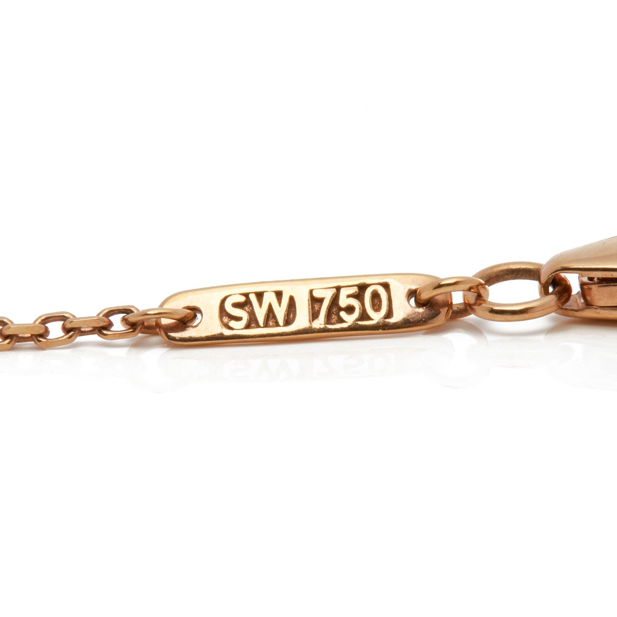 Stephen Webster 18k Rose Gold Crystal Haze Gold Struck Amethyst Pendant