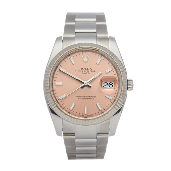 Rolex Oyster Perpetual Date Stainless Steel - 115234