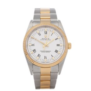 Rolex Oyster Perpetual 34 Stainless Steel & Yellow Gold - 14233