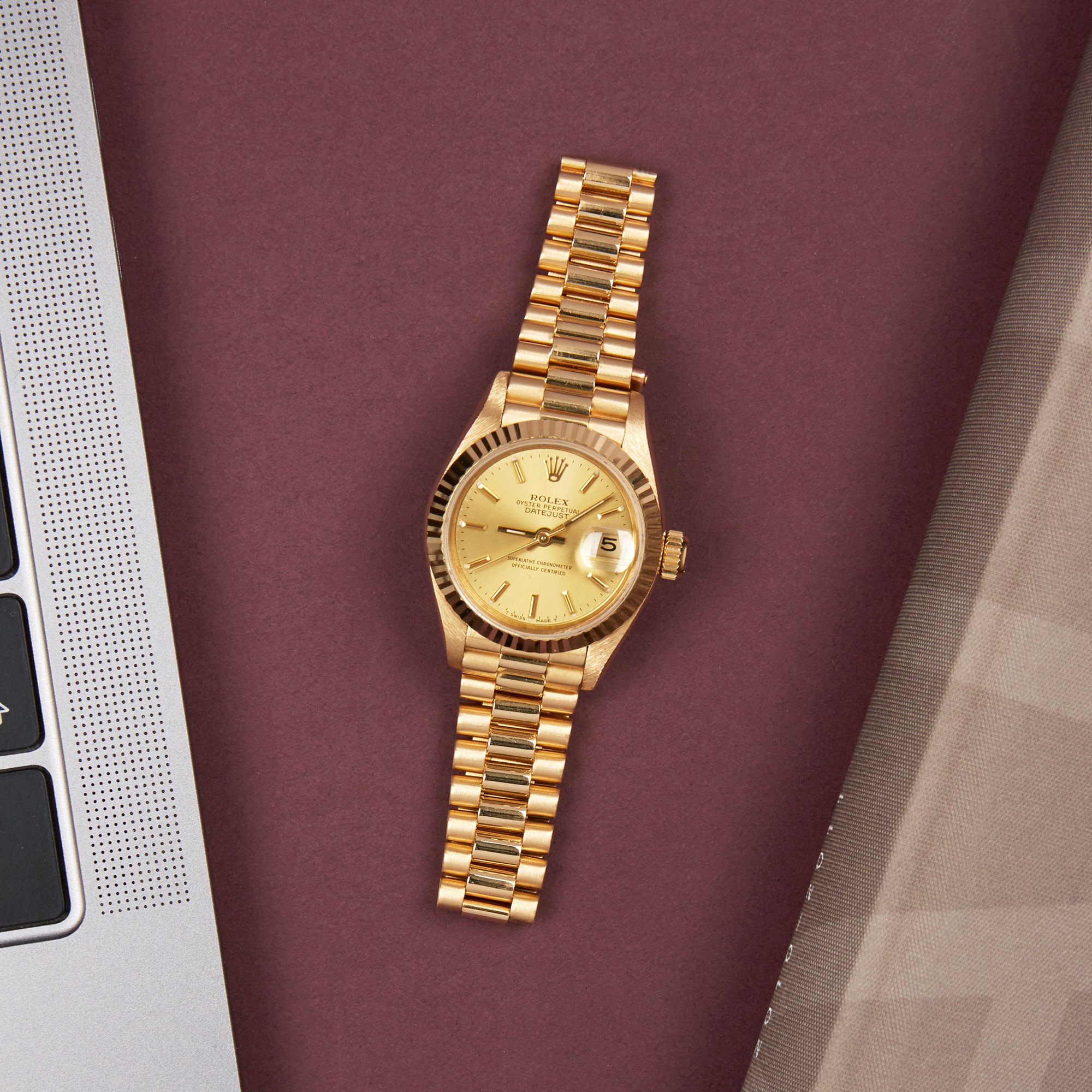 Rolex Datejust 26 18K Yellow Gold 69178