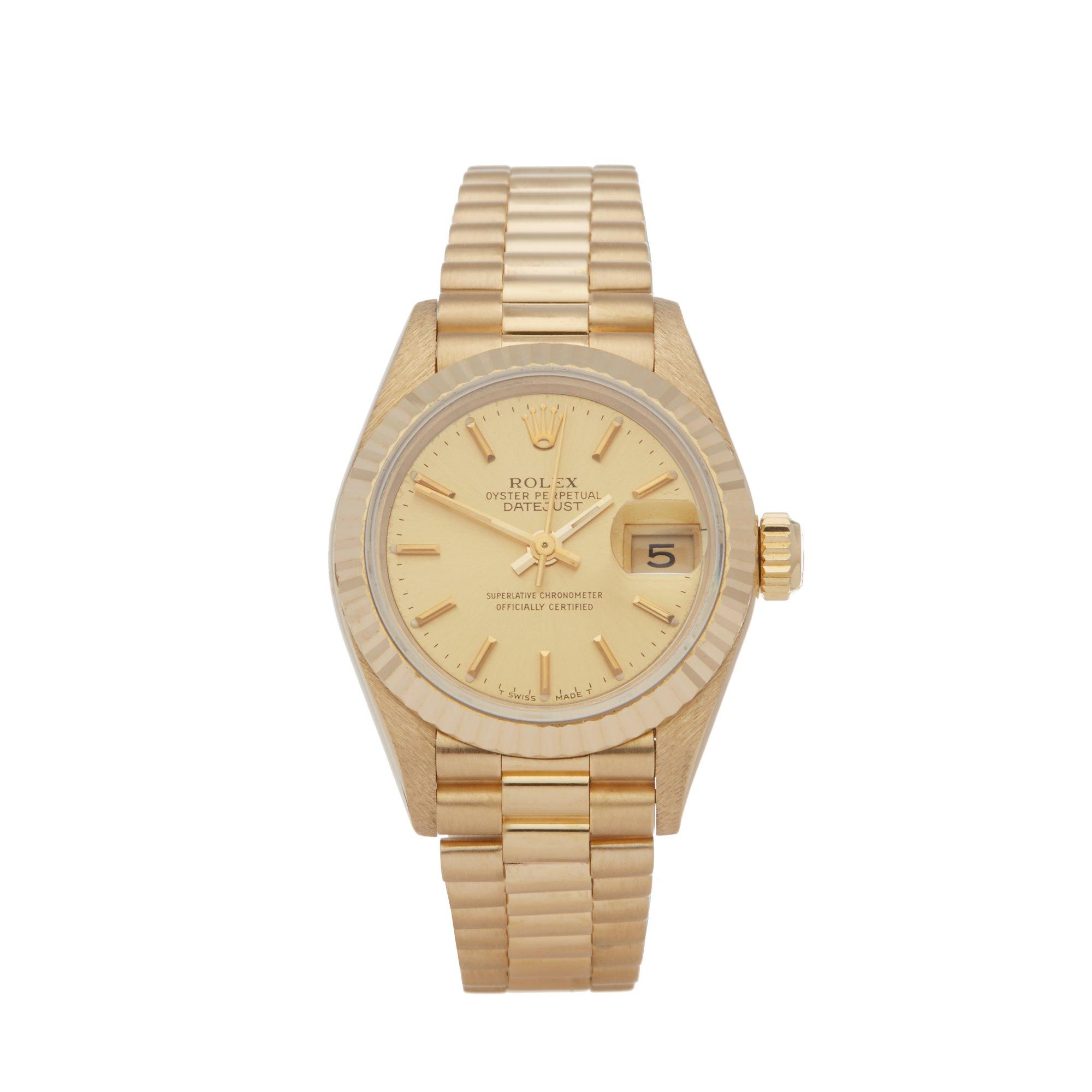 Rolex Datejust 26 18K Geel Goud 69178