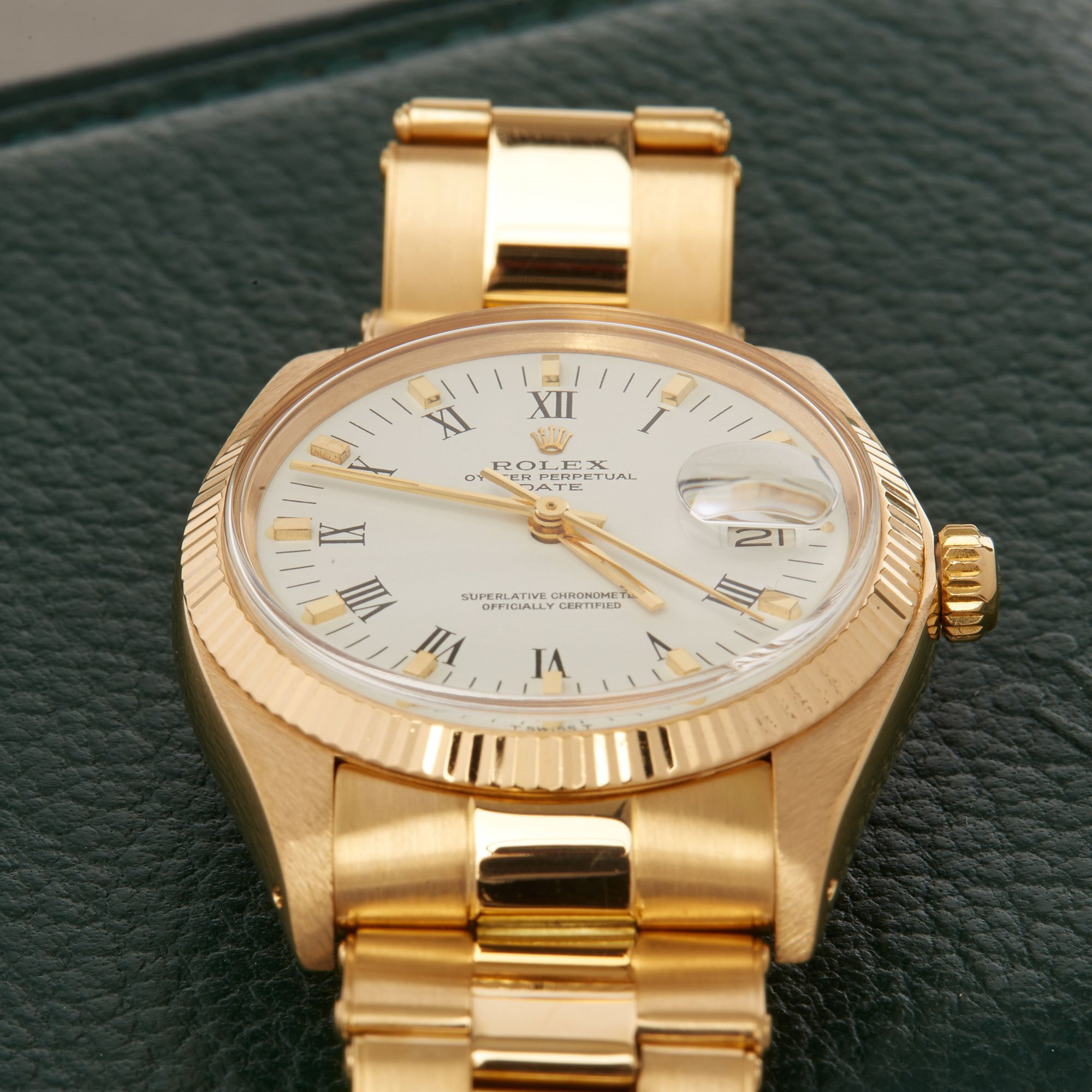 Rolex Oyster Perpetual Date 18K Yellow Gold - 1503 Yellow Gold 1503