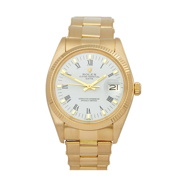 Rolex Oyster Perpetual Date 18K Yellow Gold - 1503