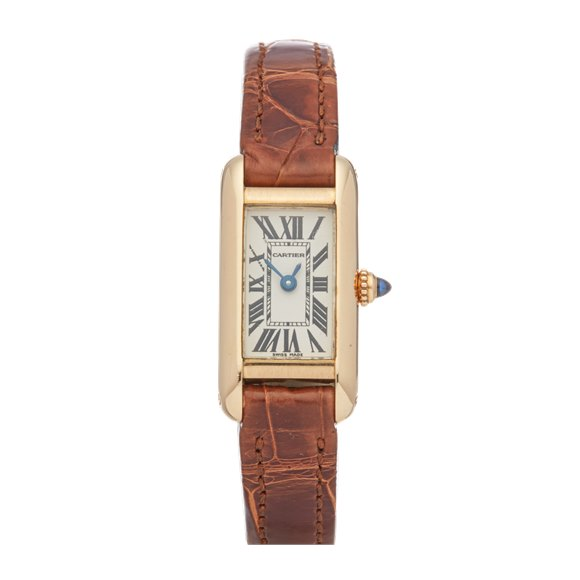 Cartier Tank Mini 18K Yellow Gold - 2443