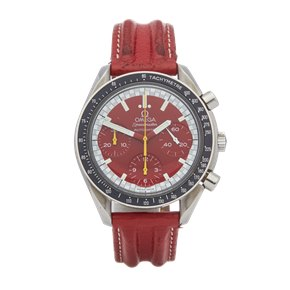 Omega Speedmaster Michael Schumacher Racing Chronograph Stainless Steel - 3810.61.41