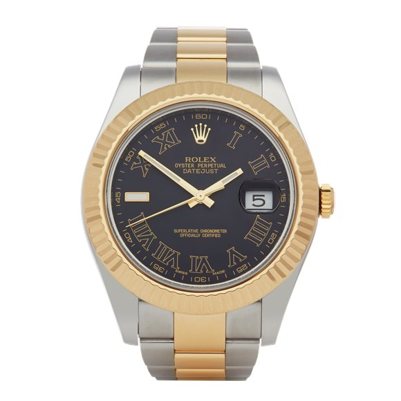 Rolex Datejust II Stainless Steel & Yellow Gold - 116333