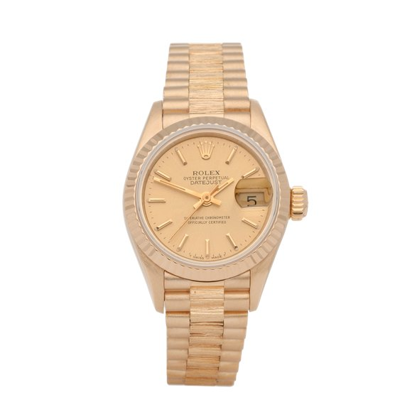 Rolex Datejust 26 18K Yellow Gold - 69278