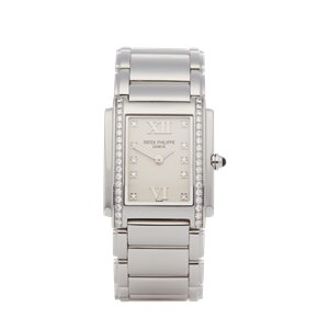 Patek Philippe Twenty-4 Diamond Stainless Steel - 4910-10