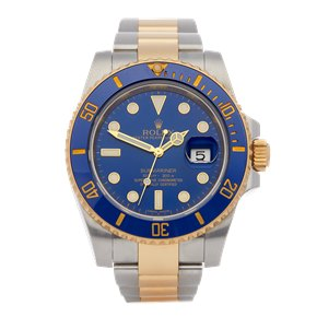 Rolex Submariner Date 18K Yellow Gold & Stainless Steel - 116613LB