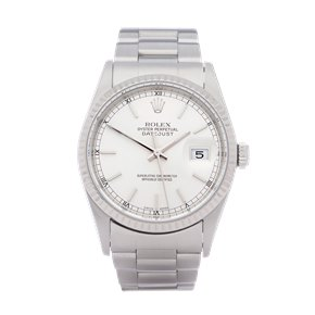 Rolex Datejust 36 18K Stainless Steel - 16234